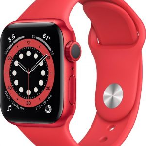Apple Watch Series 6 40mm Rood Goedkoop