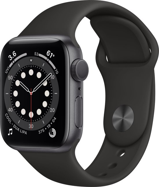 Apple Watch Series 6 40mm Spacegrey goedkoop