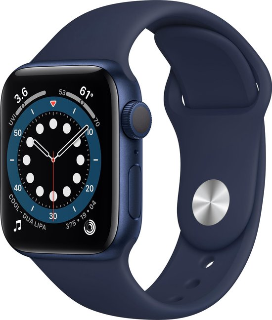 Apple Watch Series 6 44mm Blauw