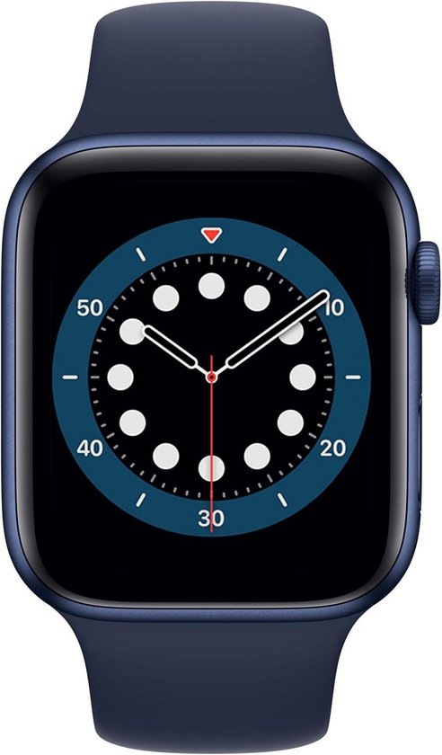 Apple Watch Series 6 44mm Marine Blauw