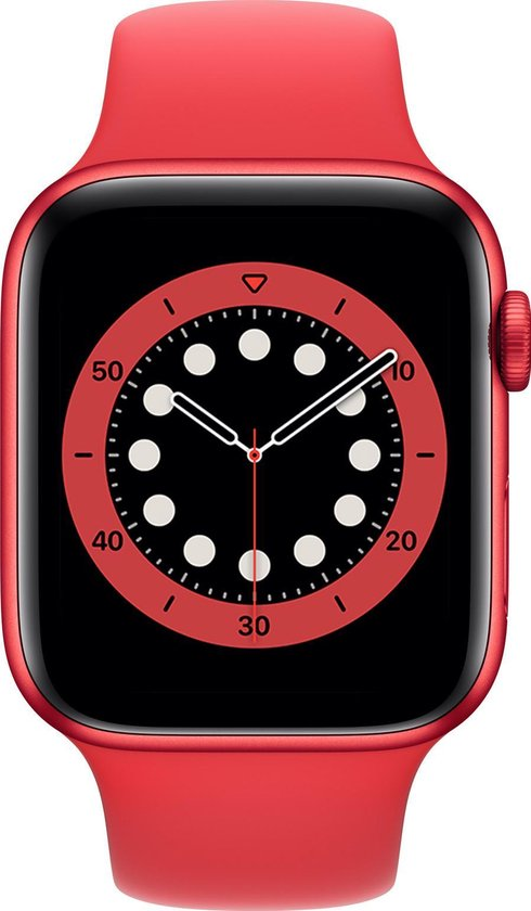 Apple Watch Series 6 44mm Rood Red