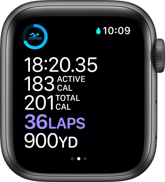Apple Watch Series 6 44mm Spacegrey origineel