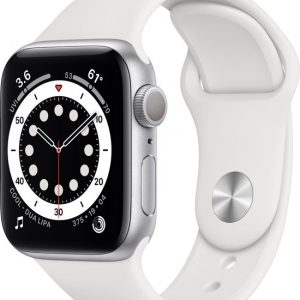 Apple Watch Series 6 44mm Zilver goedkoop